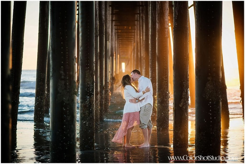 Engagement Shoot at OceanSide Harbor
