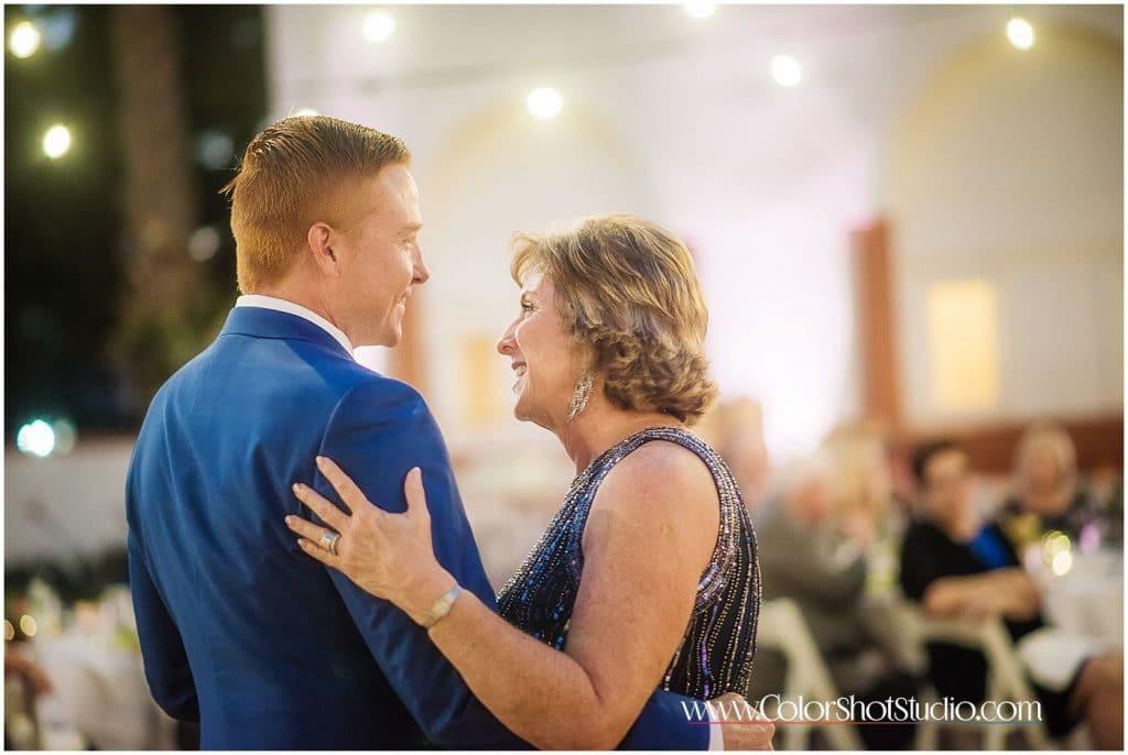 Mother Son Dance Omni la costa resort wedding photography by color shot studio